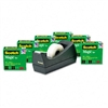 Scotch Magic Tape Value Pack w/Dispenser, 3/4 x 1000,