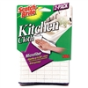 3M Kitchen Cleaning Cloth, Microfiber, White # MMM90322