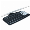 3M Positive Locking Keyboard Tray, 25-1/2 x 11-1/2, Bla