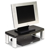 3M Extra-Wide Adjustable Monitor Stand, Black # MMMMS90