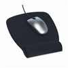 3M Foam Mouse Pad w/Wrist Rest, Nonskid Base, 6-7/8 x 8