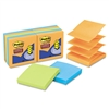 Post-it Super Sticky Pop-Up Notes, 3 x 3, Neon, 10 90-S