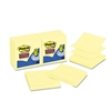 Post-it Super Sticky Pop-Up Refill, 3 x 3, Canary Yello