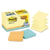 Post-it Bonus Pack Pop-Up Refills 3 x 3, Canary Yellow/