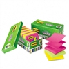 Post-it Ultra Pop-Up Note Refills, 3 x 3, Five Colors,