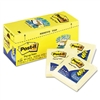 Post-it Cabinet Pack, Pop-up notes, 3 x 3, Canary Yello