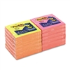 Post-it Pop-Up Refills, 3 x 3, 4 Alternating Neon Color