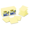 Post-it Recycled Pop-Up Notes Refill, 3 x 3, Canary YW,