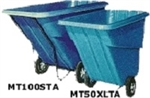 Maxi-Movers 1 yd Tilt Trucks - Standard Duty - 1000lbs Capacity, MT100STA