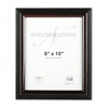 Nu-Dell Executive Document Frame, Plastic, 8 x 10, Blac