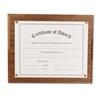 Nu-Dell Award-A-Plaque Document Holder, Acrylic/Plastic