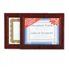 Nu-Dell Leatherette Document Frame, 8-1/2 x 11, Burgund