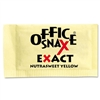 Office Snax Nutrasweet Yellow Sweetener, 2000 Packets/C