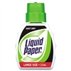 Liquid Paper Fast Dry Correction Fluid, 22 ml Bottle, W