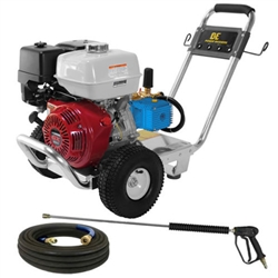 BE Pressure 4000 PSI (Gas - Cold Water) Pressure Washer With CAT Pump And Honda Engine, PE-4013HWPACAT