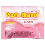 PhysiciansCare Pepto Bismol Tablets, 25/Box # PFYBXPB25