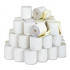 PM Company Two-Ply Receipt Rolls, 3 x 90 ft, White/Can