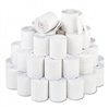 PM Company Two-Ply Receipt Rolls, 3 x 90 ft, White, 50