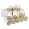 PM Company Two-Ply Receipt Rolls, 4-1/2 x 90 ft, White