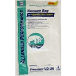 Panasonic Replacement U-3 U-6 Hepa Filter Vacuum Bags: PR-1471A 3/Pack