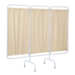 R&B Wire Privacy Screen w/ Antimicrobial Panels & Crutch Tips