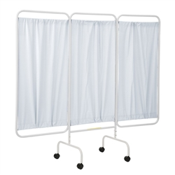 Privacy Screen w/ Casters, # PSS-3C