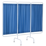 R&B Wire Designer Stationary Three Panel Privacy Screen