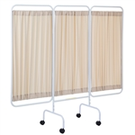 R&B Wire Designer Mobile Three Panel Privacy Screen