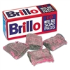 Brillo Steel Wool Soap Pad, 10/Box # PUXW240000