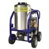 "Mercury PW-DOMINATOR-2 Electric Hot Water High Pressure Washer, 2 HP HD Electric Motor, 42"" Wand, 50-Foot Hose - with (4) 10"" Wheels"