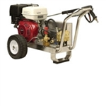 "Mercury Force Belt Cold Water High Pressure Washer, 13 HP Honda Gas Engine, 36"" Wand, 50-Foot Hose - with (2) 10"" Wheels"
