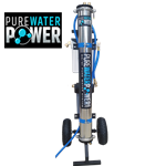 "Pure Water Power 4-Stage RODI Water Purification System, Single RO, 10"" DI, PWP-CART-SRO-10"