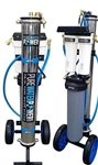 "Pure Water Power 4-Stage RODI Water Purification System, Single RO, 20"" DI, PWP-CART-SRO-20"