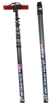 Pure Water Power Cobra 55 ft, 58 ft reach Kevlar, Hi-Mod Carbon Fiber Waterfed Pole, PWP-COBRA-55
