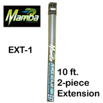 Pure Water Power Mamba 10 ft. Kevlar Hi-Mod Waterfed Pole Extension, PWP-KHM-EXT-1