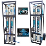 Pure Water Power Little Beast Dual RO Water Purification System with 12V Pump