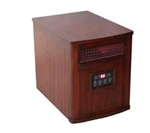 Infrared Quartz Portable Comfort Furnace- Heritage Cherry- QEH1501