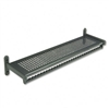 Quartet 48 Wide Wall Shelf Rack, Powder Coated Texture