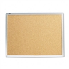 Quartet Cork Bulletin Board, Natural Cork/Fiberboard, 2