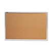 Quartet Cork Bulletin Board, Natural Cork/Fiberboard, 3