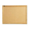Quartet Cork Bulletin Board, Cork Over Fiberboard, 24 x