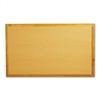 Quartet Bulletin Board, Natural Cork Over Fiberboard, 6