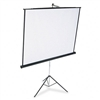 Quartet Portable Tripod Projection Screen, 70 x 70, Whi