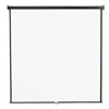Quartet Wall or Ceiling Projection Screen, 84 x 84, Whi