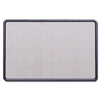 Quartet Contour Fabric Bulletin Board, 36 x 24, Light B