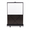 Quartet Euro Portable Cinema Screen w/Black Carrying Ca
