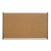 Quartet Cubicle Arc Frame Colored Cork Board, 14 x 24,
