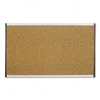 Quartet Cubicle Arc Frame Colored Cork Board, 18 x 30,