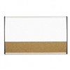 Quartet Magnetic Dry Erase/Cork Board, Painted Steel, 1