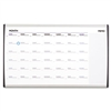 Quartet Magnetic Dry Erase Calendar, Painted Steel, 18